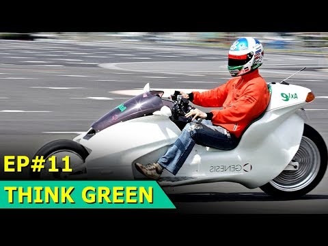 Magnetic Hybrid Motorbike | Think Green : Episode 11