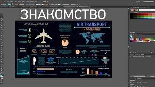 Adobe Illustrator - первые шаги