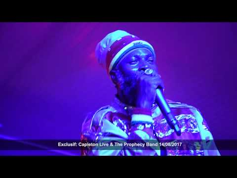 Exclusif ITW et LIVE @capletonmusic and The Prophecy Band Martinique 2017 Inna Di Club Event