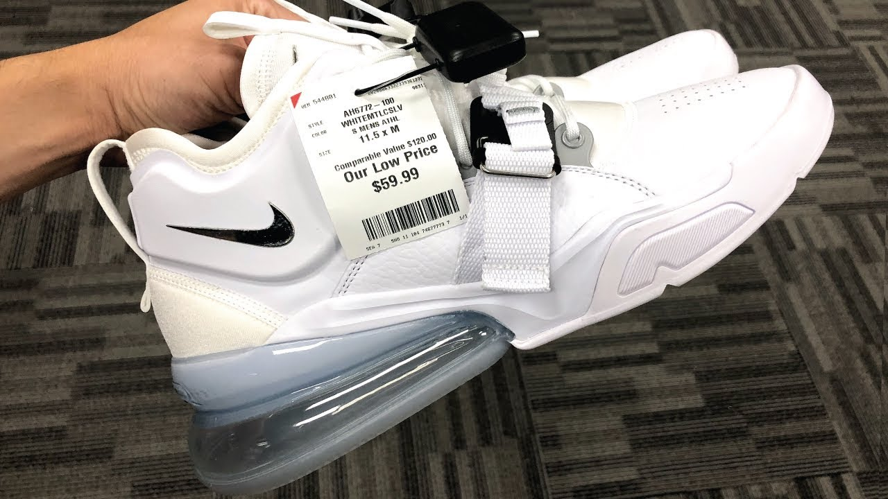 hot sale pretty cool a few days away I FOUND NIKE AIR FORCE 270 AT BURLINGTON FOR $59!
