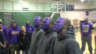 "Alpha Upsilon ""Brooklyn Omega"" Wagner College Spring 2012 Probate Show"