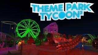 Roblox Theme Park Tycoon 2 | Jonas og Jonas at Eventyr | New Rollercoaster!