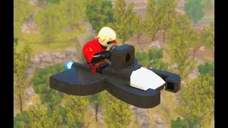 Lego The Incredibles - All Minikits Level 10 Return To Nomanisan Island 100% Free play Walkthrough