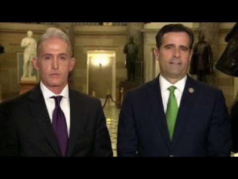 Reps. Gowdy, Ratcliffe on FBI losing key antiTrump texts
