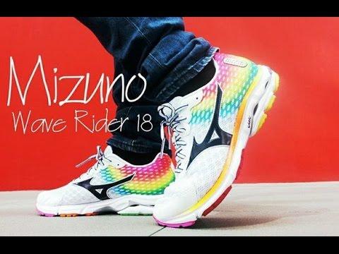 714dba951eac Mizuno Wave Rider 18 (OSAKA Edition) - YouTube