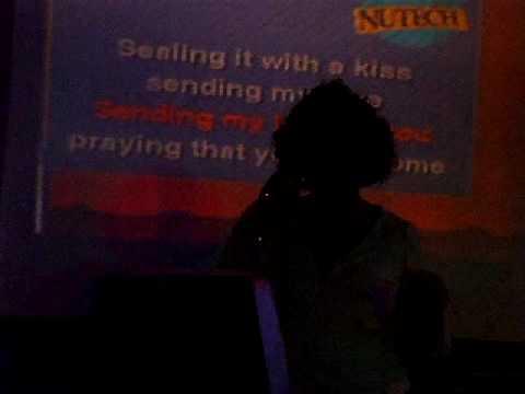 Sending My Love by Zhane (Karaoke Live)...Bullseye in Lee's Summit, MO