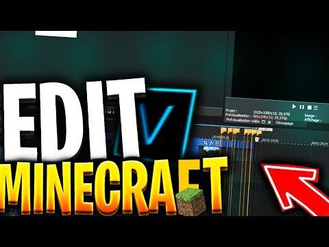 TUTO ✔ : Faire Un SUPER MONTAGE Ou EDIT Sur Minecraft ! ✅ (Sony Vegas)