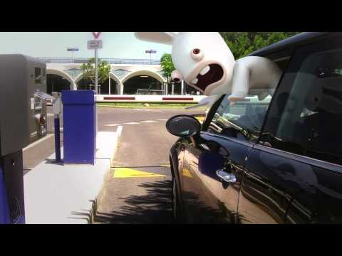 Rabbids Daily Life Video #1: Carpark [NORTH AMERICA]