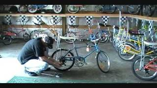 How To Make A Bicycle Wheelie Bar For Your Schwinn Stingray & Other Muscle Bike