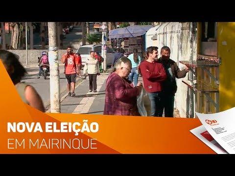 Mairinque se prepara para nova eleição - TV SOROCABA/SBT