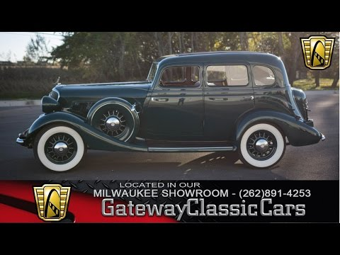 1934 Studebaker Commander Regal Now Featured In Our Milwaukee Showroom #125-MWK