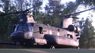The MH-47 from 160th SOAR going home from the Freedom Fighters Open