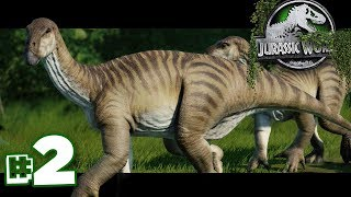 The Killer Herbivores are here! | The Dinosaur Preserve - Part 2 | Jurassic World Evolution
