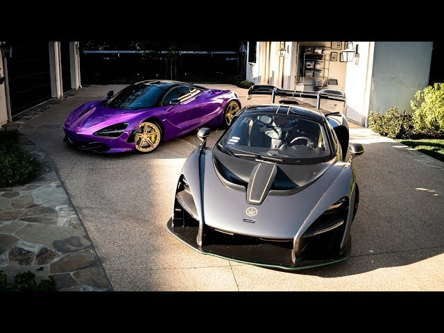 MCLAREN SENNA VS 720S! | Salomondrin