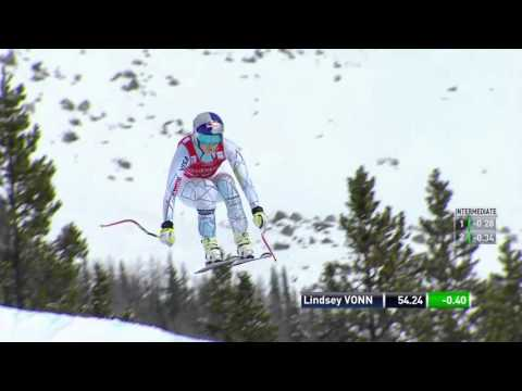 Lindsey Vonn - WINS DH - Lake Louise