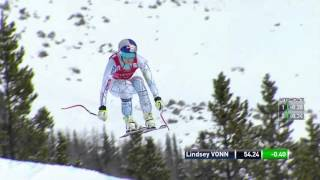 Lindsey Vonn - WINS DH - Lake Louise