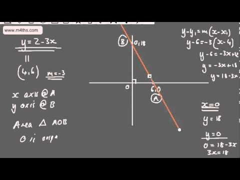Core 1 - Coordinate Geometry (2) - Parallel and Perpendicular Lines