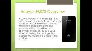 Huawei E5878 Specifications Review