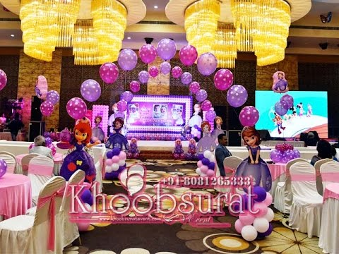 1st birthday party with game magic and music by khoobsurat event @golden blossom