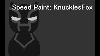 Speed Paint: KnucklesFox (Giveaway Winner)