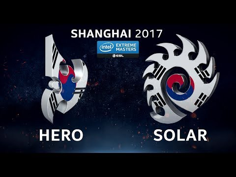 StarCraft II - her0 vs. Solar [PvZ] - Group C - IEM Shanghai 2017