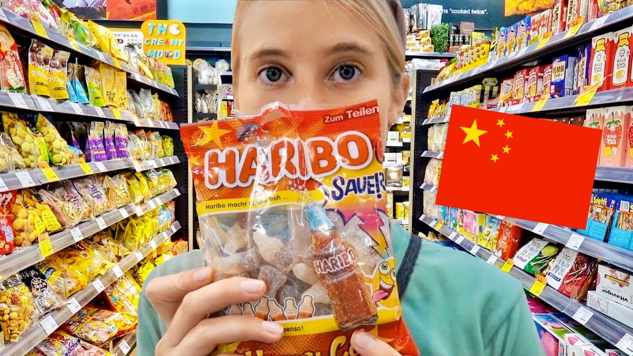 An international supermarket in CHINA - what's it like??