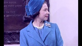 The Queen's Hats   British Pathé