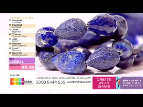 [How to make Bridal Jewellery] - JewelleryMaker LIVE 28/3/15