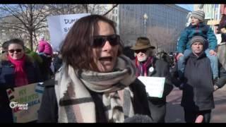 استمرارالاحتجاجات في المدن الأميركية على قرار ترامب بمنع الهجرة