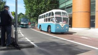 London Bus Cavalcade - part 2 with 1940s/1950s buses