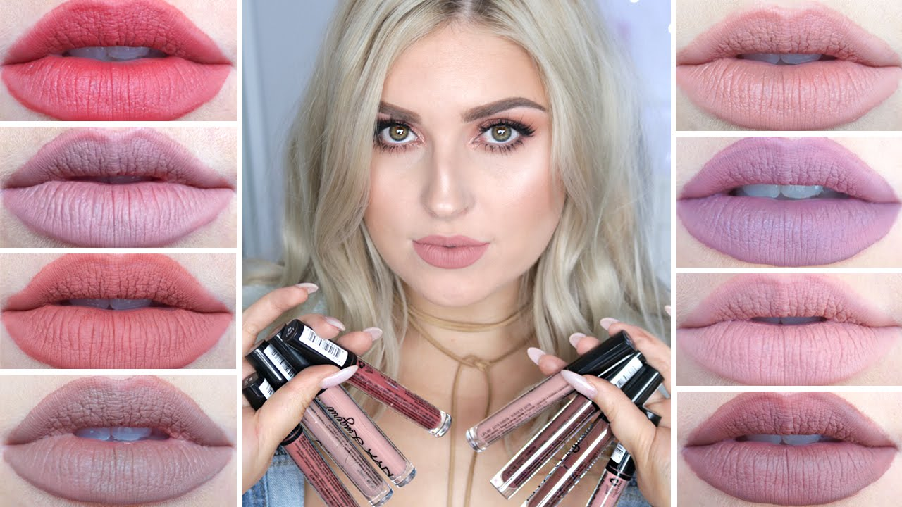 Nyx Lip Lingerie Swatches ♡ Review First Impression