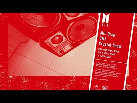 BTS- Mic Drop/DNA/Crystal Snow (Japanese Ver.)  (descarga/download)