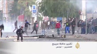 تجدد الاشتباكات في مدينة القصرين التونسية