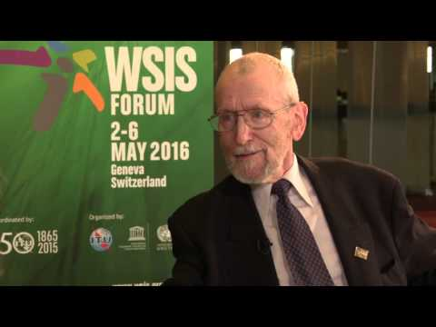 WSIS 2016 INTERVIEW: Cyril Ritchie, President of Conference of NGO's (CONGO)