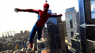 Spider-Man PS4: Epic Parkour Combat & Free Roam Gameplay - Homecoming Suit - Vol.7