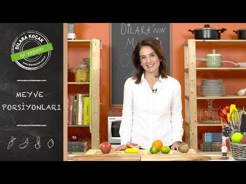 Meyve Porsiyonları | Dilara Koçak | Püf Noktalar