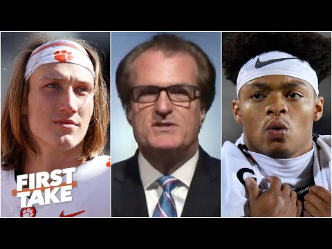 Justin Fields could be taken before Trevor Lawrence in the 2021 NFL Draft - Mel Kiper | First Take