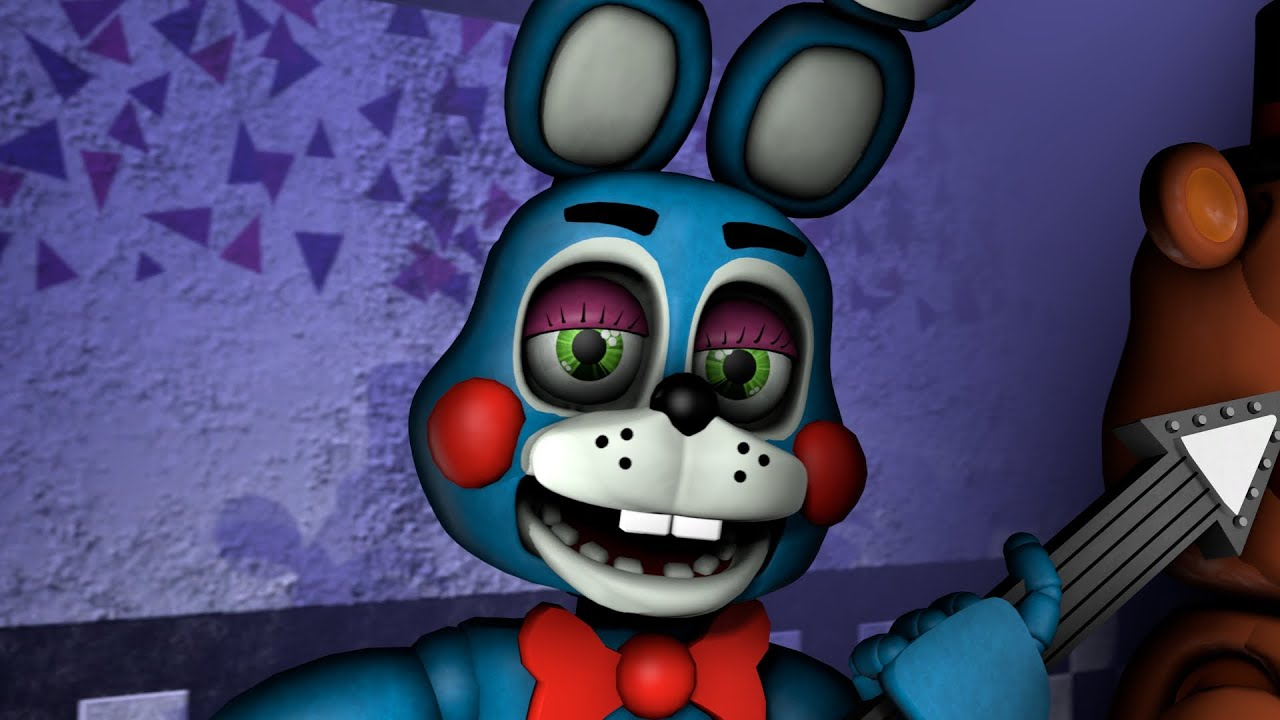 fnaf sfm toy bonnie voice animated by david near youtube