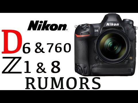 Nikon D6, Nikon D760, Nikon Z1 and Nikon Z8 Rumors - YouTube