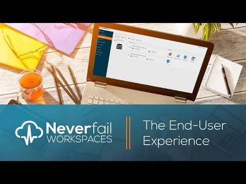 Neverfail Workspaces: The End User Experience