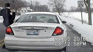 Dashcam Video Captures Driver Shooting At Police Officer