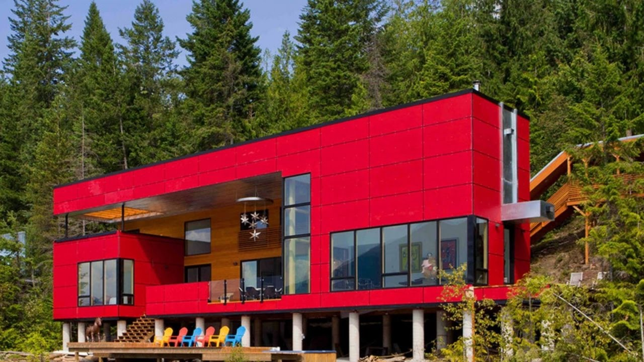 40 contemporary homes in canada youtube for Home builders in canada