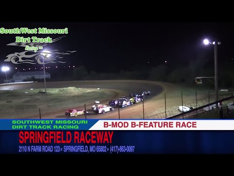 B MOD B Feature Race | Springfield Raceway | 10.14.17 | Dirt Track Racing