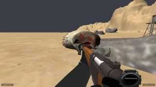 Tremors 3D Game -  Graboid Test 1