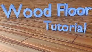 Realistic Procedural Wood Floor Blender Tutorial