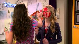 Girl Meets World - Girl Meets Maya's Mother - Paint Fight! - Official Disney Channel UK HD