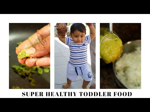 Toddler Special Mix Rice (Part I) | Healthy Toddler Food Recipes | 11 Month Baby Foods