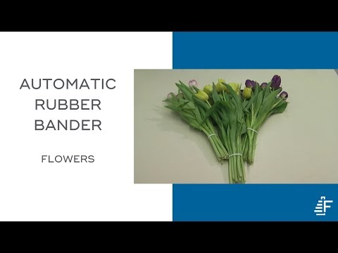 Bunching Flowers Using Felins Arb Automatic Rubber