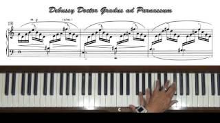 Debussy Doctor Gradus ad Parnassum Piano Tutorial
