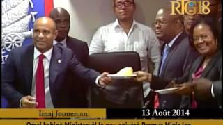 Le premier Ministre Laurent Salvador Lamothe fête un nouveau Printemps